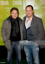 attends the Germany Premiere of 'Four Lions' at cinema Kulturbrauerei on April 12, 2011 in Berlin, Germany.